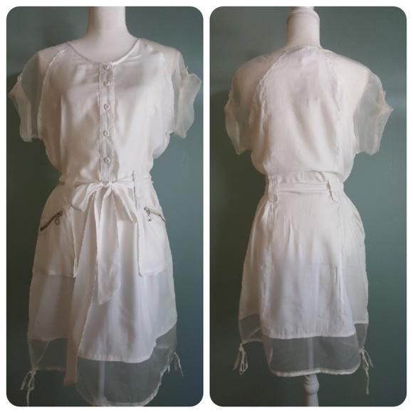 Miilla Clothing Dresses & Skirts - Miilla Off White Dress